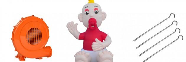 """Opblaas Twente Baby """"100% Tukker"""""""