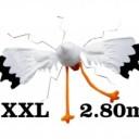 Mega XXL raam ooievaar / 3D ooievaar